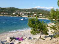 An der kroatischen Adriaküste