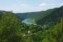 Weiter auf dem Weg nach Süden - der Krka-Nationalpark in Kroatien...
