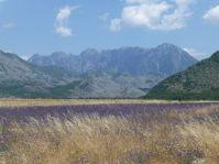 noch weit weg - die Albanischen Alpen