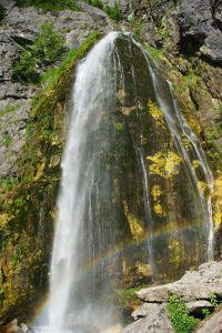 Die Wanderung dorthin ist nicht ganz einfach - der Wasserfall ist jedoch sehenswert