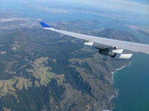 Anflug auf San Francisco