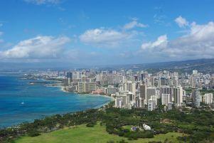 Waikiki liegt uns zu Füßen