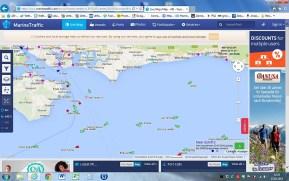 Im Internet kann man verfolgen, wo der Autotransporter gerade ist - hier im Hafen von Zeebrugge