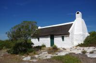 historisches Fischerhaus an der Südküste