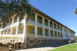 Das Parlamentsgebäude wird im Volksmund auch Tintenpalast genannt.