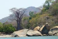 Die Landschaft auf der Insel war imposanter als die Unterwasserwelt.
