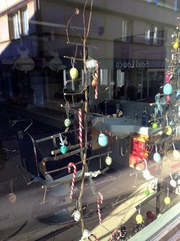 Nach dem Fest ist vor dem Fest - aufgenommen kurz vor Silvester in Appenzell.