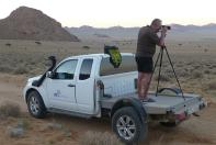 Jörgs Fotografischer Blick ist derweil in die Wüste gerichtet.