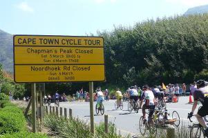 Über 60.000 Pedalritter nahmen an der diesjährigen Cape Town Cycle Tour teil.