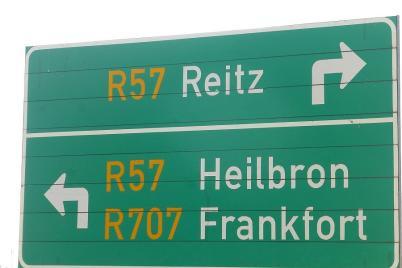 Falsch geschrieben? Mitnichten, diese Orte gibt es wirklich in Südafrika.