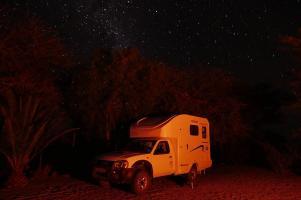 Der Sternenhimmel über Afrika ist einzigartig.