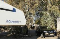 """Unser """"Neuer"""" auf dem Parkplatz: Ein Nissan X-Trail."""