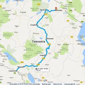 Statistik Tansania, Teil 1