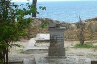 Aufgeräumt – der Deutsche Friedhof in Bagamoyo.