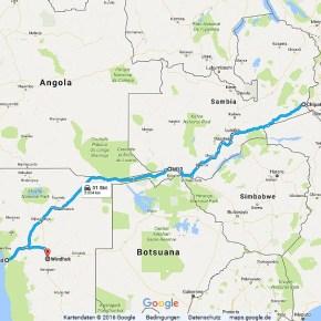 Statistik Sambia, Teil 5 (Namibia)
