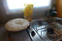 """""""Der süße Brei"""" wird später ein schmackhaftes Brot."""