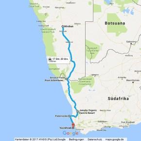 Statistik Namibia, Teil 16 (Südafrika)