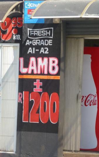 Die Verhandlungsspanne bei Lammfleisch ist recht groß.