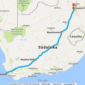 Statistik Südafrika, Teil 21 (Kapstadt - Johannesburg)