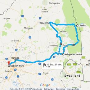 Statistik Südafrika, Teil 22 (Krügerpark und Blyde River Canyon)