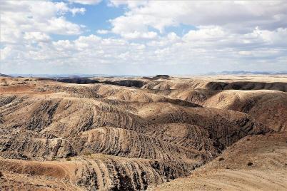 Das Kuiseb-Tal bring bizarre Formen hervor.