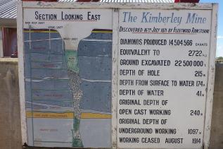 Einige interessante Details zum Loch.