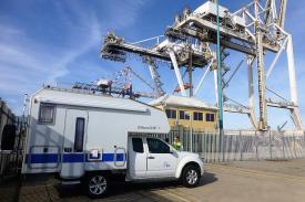 Endstation in Afrika: der Hafen von Port Elisabeth
