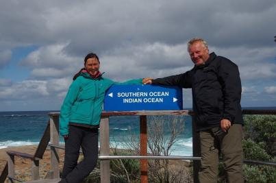 Cape Leeuwin ist der südwestlichste Punkt des australischen Festlandes.