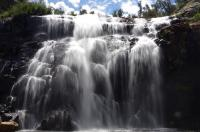 Andere Wasserfälle laufen das ganze Jahr...