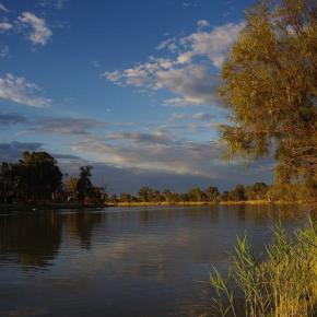 Unterwegs zwischen Adelaide und Murray River