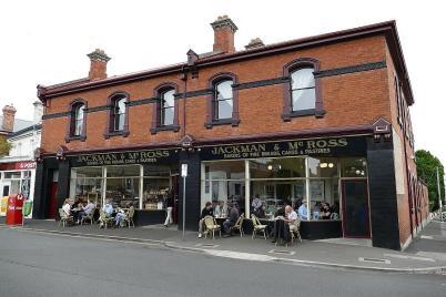 Gemütliches Cafe am Battery Point in Hobart
