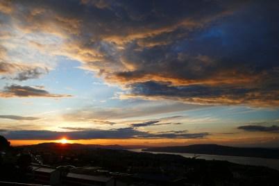 Sonnenspiele über dem Zürichsee