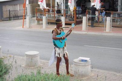 Straßenkünstler in Soweto