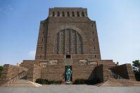 Das Vortrekker-Denkmal in Pretoria ähnelt dem Völkerschlachtdenkmal in Leipzig.