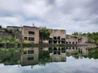 Die Tour zum Stienitzsee führt durch alte Industriebrachen…
