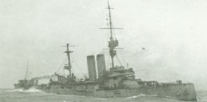 HMS 'King Edward VII' sinkt
