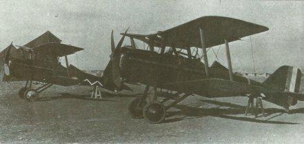 S.E.5a der 111. Squadron der RAF in Palästina