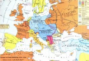 Europa im 1. Weltkrieg