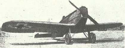 Experimenteller Ganzmetall-Jäger Junkers J.7 von 1917.