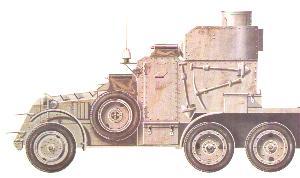 Lanchester-Panzerwagen