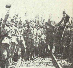 Österreich-ungarische Kavallerie-Offiziere