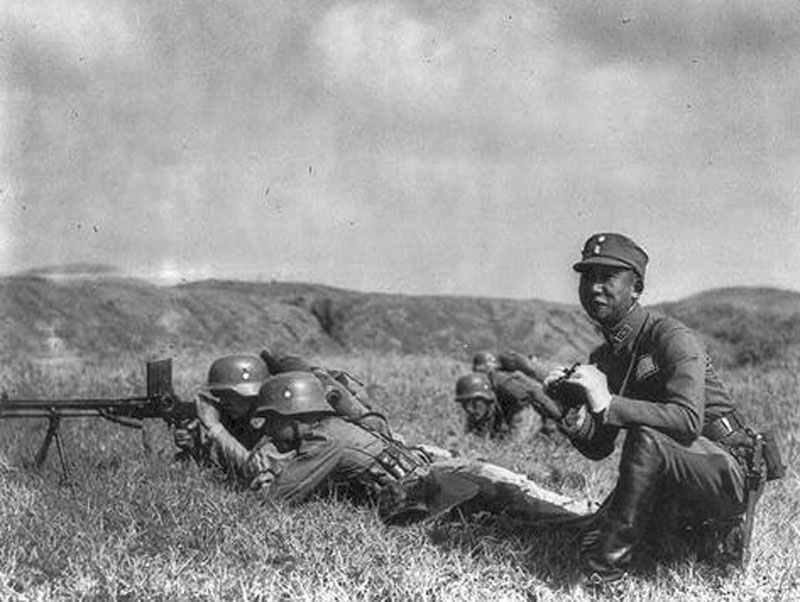 Chinesische Streitkräfte 1937 1941 National Chinesische Armee