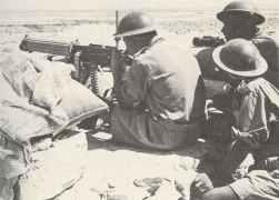 schweres Vickers-Maschinengewehr