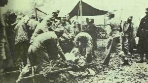 Österreich-ungarische Truppen in Galizien