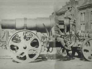 österreichischer 30,5-cm-Skoda-Mörser