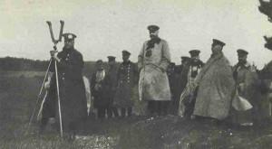 der deutsche Armeestab bei Tannenberg
