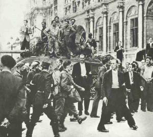 deutsche Gefangene in Paris 1944