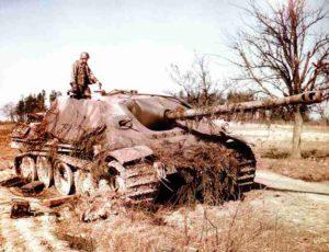 zerstörter Jagdpanther