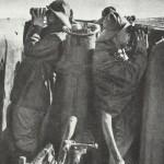 Ausguckposten im Turm eines U-Boots