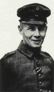 Erwin Rommel als junger Offizier